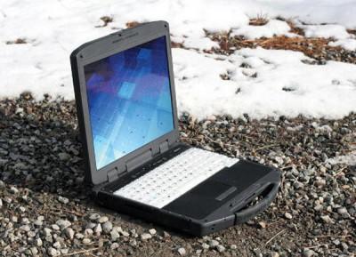 Прочный ноутбук General Dynamics Itronix GD8200