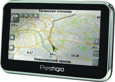 Новые GPS навигаторы GeoVision GV4700/ВТ и GV5700/ВТ от Prestigio