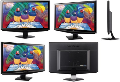 3 бюджетных монитора с LED подсветкой от ViewSonic