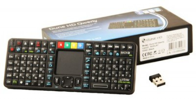 Тачпад и подсветку клавиш получила клавиатура Dune HD Qwerty