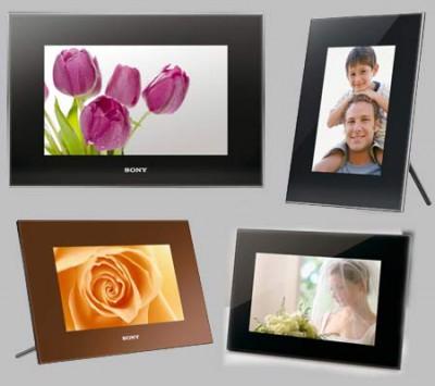 HD видео в возможностях новых фоторамок S-Frame от Sony
