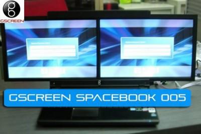 gScreen закончила разработку двухэкранного SpaceBook