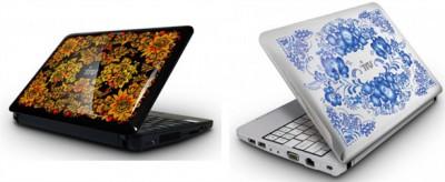 Гжель и хохлома в дизайне новых нетбуков iRU Intro 104 с поддержкой 3G