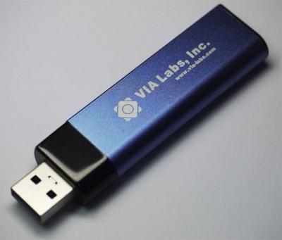 На смену контроллеру VIA VL750 пришел VL751, ориентированный на USB 3.0