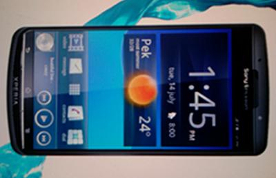 Некоторые данные о новинке от Sony Ericsson -  смартфоне Xperia duo