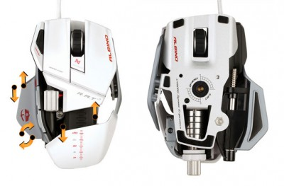 Мышь Cyborg RAT Albino – крутой «трансформер» для геймеров