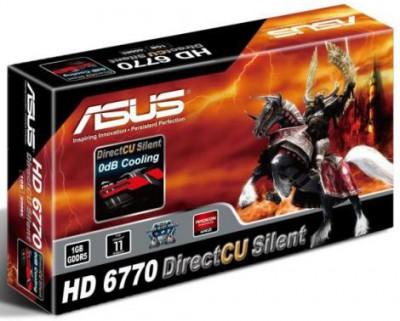 Radeon HD 6770 DirectCU Silent от ASUS – комфортно-тихое решение для продвинутых систем