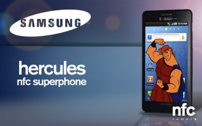 Мощные характеристики Samsung Hercules  и его фото вышли в Интернет