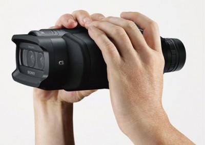 Бинокли Sony DEV-5 и DEV-3 с функциями 3D видеосъемки
