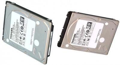 Применяя дисковые пластины на 500 ГБ, Toshiba дышит в затылок Western Digital