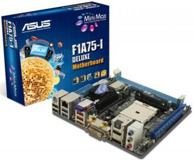 mini-ITX плата для процессоров Llano от компании ASUS
