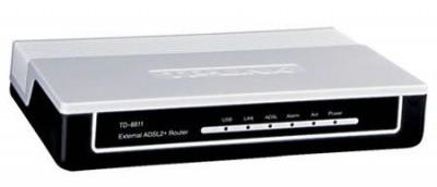 TP-LINK TD-W8151N – роутер с модемом и модулем  Wi-Fi внутри