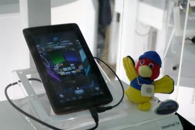 ViewSonic ViewPad 7x выйдет в сентябре
