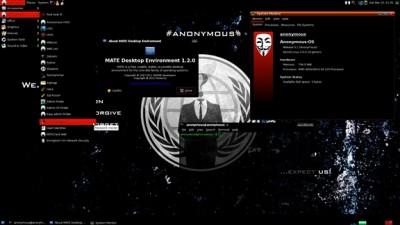 Программисты из Анонимус создали свою ОС