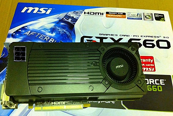 3D-видеокарты  NVIDIA GeForce GTX 660