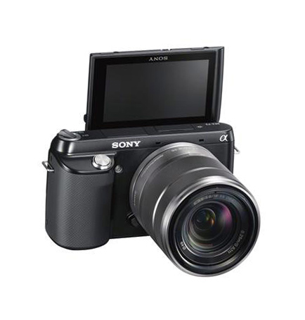 Sony NEX-F3 поворотный экран