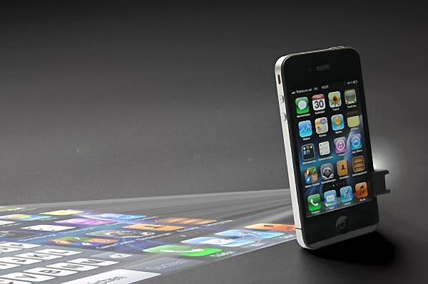 мобильным проектор