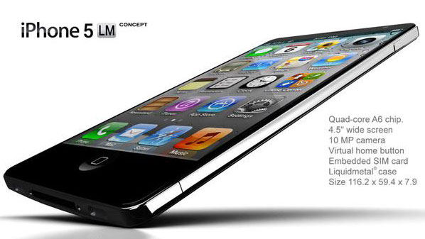 Концепт Apple iPhone 5
