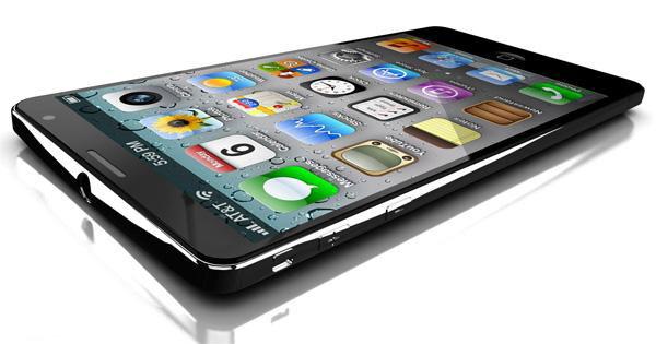 iPhone 5 в корпусе от Liquidmetal