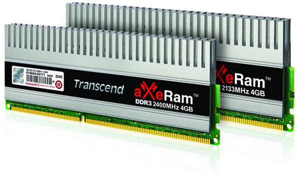 Transcend - aXeRam DDR3
