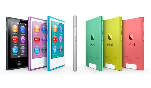 iPod nano: Тоньше, выше, стильнее!