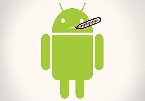 Интерфейс Android изменен