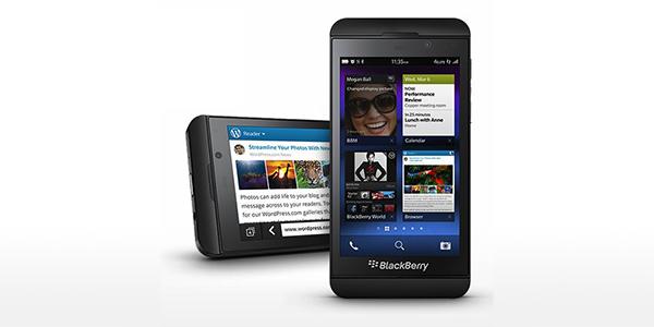 Популярность BlackBerry 10 растет