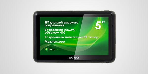 Навигатор Explay GTC5